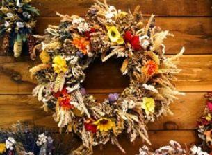 Výroba dušičkových věnců: inspirujte se podzimní krajinou