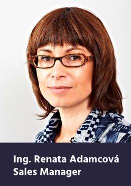 Renata Adamcová, Sales Manager